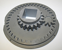 gear cog housing assembly