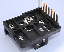 over-molding connector